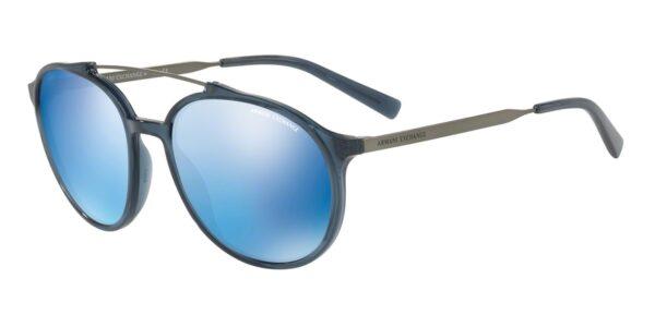 Очки Armani Exchange 0AX4069S 823855 TRANSPARENT BLUE DRESS солнцезащитные купить