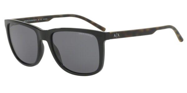 Очки Armani Exchange 0AX4070S 815881 BLACK солнцезащитные купить
