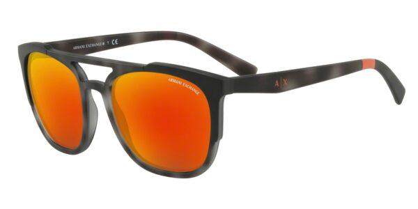 Очки Armani Exchange 0AX4076S 825271 MATTE GREY HAVANA солнцезащитные купить