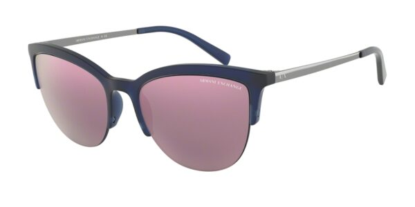 Очки Armani Exchange 0AX4083S 82685R MATTE BLUE MILKY солнцезащитные купить
