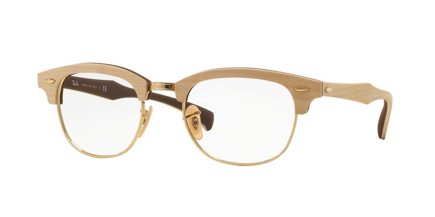 Очки Ray Ban 0RX5154M 5558 MAPLE RUBBER BROWN для зрения купить