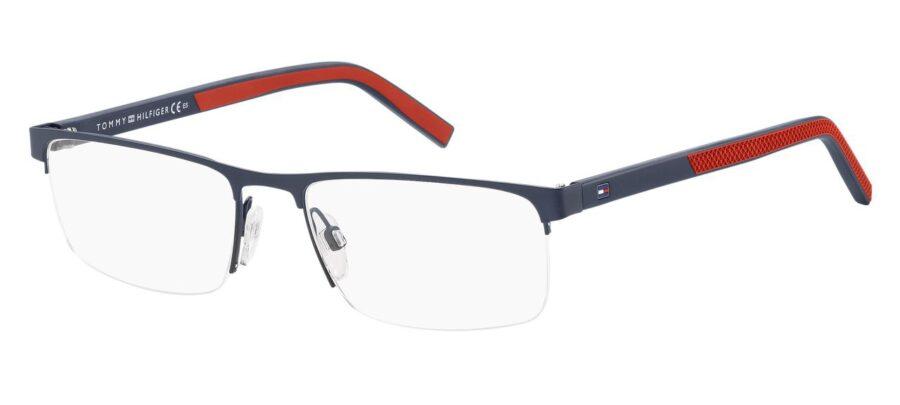 Очки TOMMY HILFIGER TH 1594 MTT BLUE для зрения купить