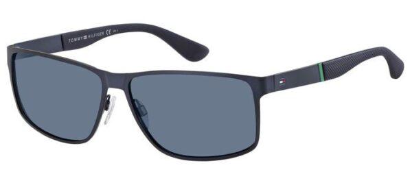 Очки TOMMY HILFIGER TH 1542/S MTT BLUE солнцезащитные купить