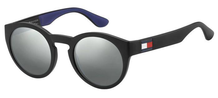 Очки TOMMY HILFIGER TH 1555/S BLK BLUE солнцезащитные купить