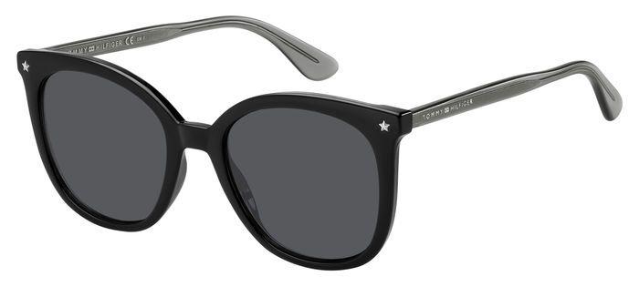 Очки TOMMY HILFIGER TH 1550/S BLACK солнцезащитные купить
