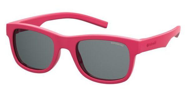 Детские очки POLAROID PLD 8020/S/SM PINK солнцезащитные купить