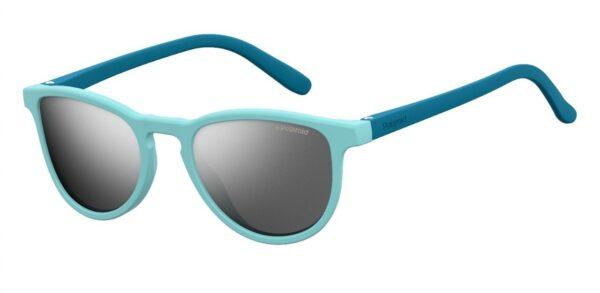 Детские очки POLAROID PLD 8029/S AZURE BLU солнцезащитные купить