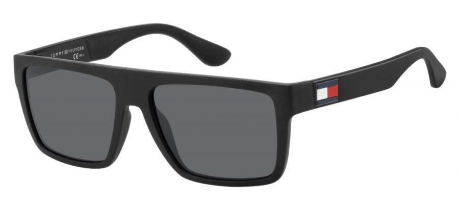 Очки TOMMY HILFIGER TH 1605/S MTT BLACK солнцезащитные купить