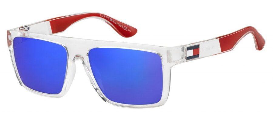 Очки TOMMY HILFIGER TH 1605/S CRY BLUE солнцезащитные купить
