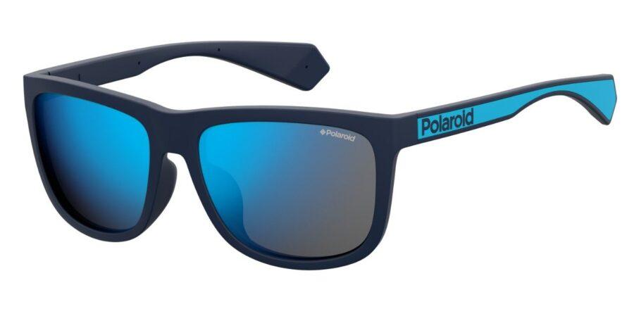 Очки POLAROID PLD 6062/F/S BLUE солнцезащитные купить