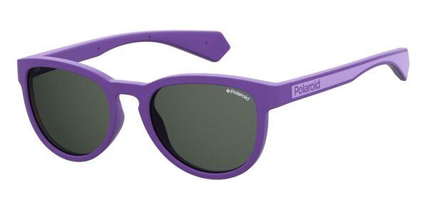 Детские очки POLAROID PLD 8030/S VIOLET солнцезащитные купить