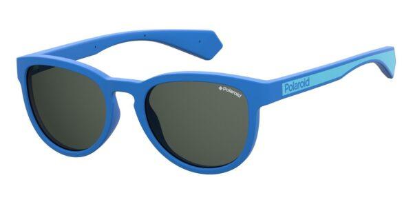 Детские очки POLAROID PLD 8030/S BLUE солнцезащитные купить