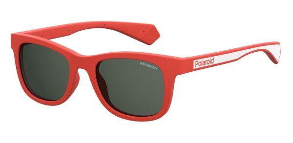 Детские очки POLAROID PLD 8031/S RED солнцезащитные купить