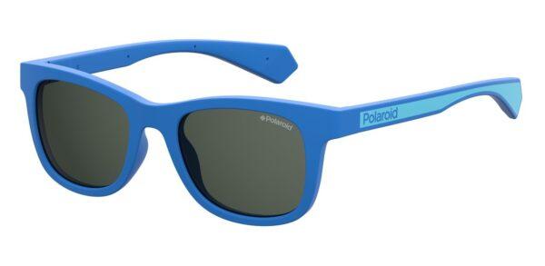 Детские очки POLAROID PLD 8031/S BLUE солнцезащитные купить