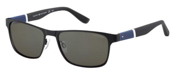 Очки TOMMY HILFIGER TH 1283/S BKBLWHGRY солнцезащитные купить