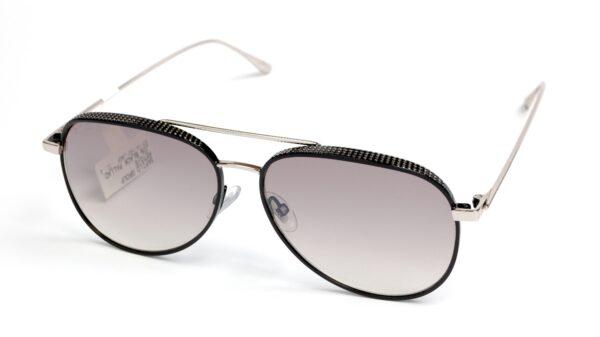 Очки JIMMY CHOO RETO/S JIN GREY MS SLV BLCK PALL солнцезащитные купить