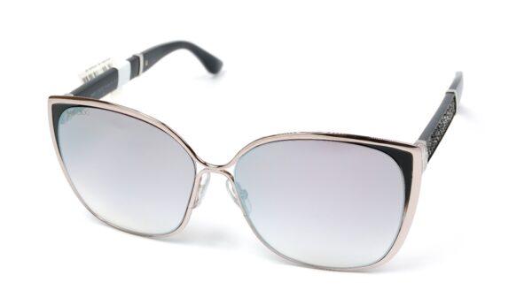 Очки JIMMY CHOO MATY/S 1B0 GRY SF SLV SP LLCGYGLTT солнцезащитные купить