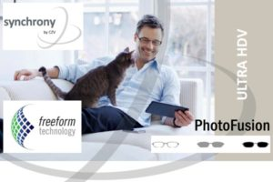 Carl Zeiss Synchrony Progressive Ultra HDV PhotoFusion Brown/Grey