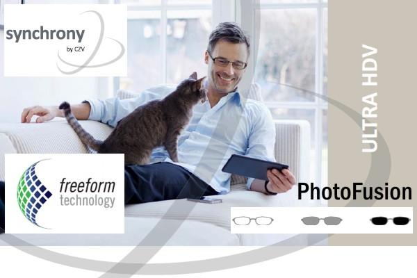 Carl Zeiss Synchrony Progressive Ultra HDV PhotoFusion Brown/Grey