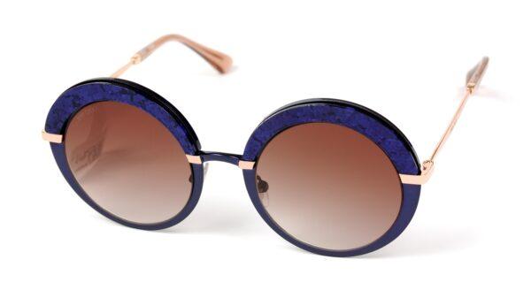 Очки JIMMY CHOO GOTHA/S 3UE BROWN SF BLUE GOLD солнцезащитные купить
