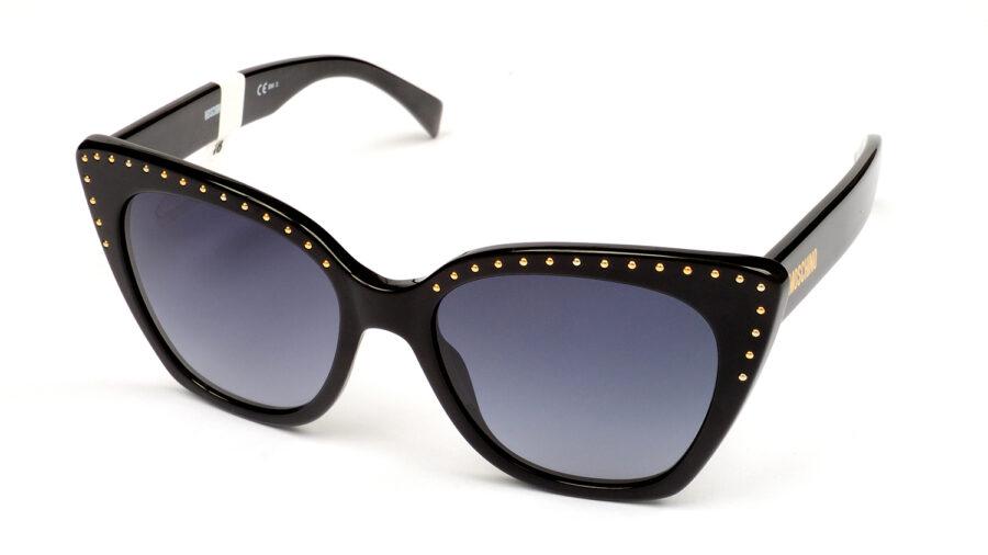 Очки MOSCHINO MOS005/S 807 DARK GREY SF BLACK солнцезащитные купить