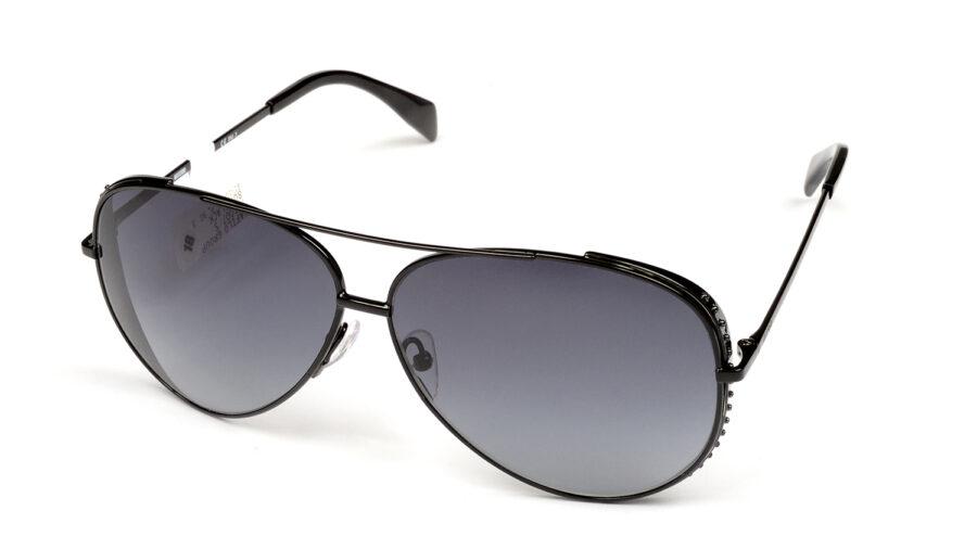 Очки MOSCHINO MOS007/S 807 DARK GREY SF BLACK солнцезащитные купить