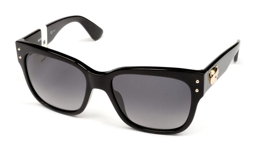 Очки MOSCHINO MOS008/S 807 DARK GREY SF BLACK солнцезащитные купить