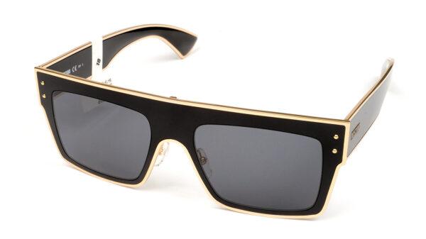 Очки MOSCHINO MOS001/S 807 GREY BLACK солнцезащитные купить