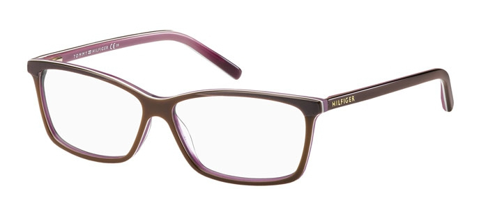Очки TOMMY HILFIGER TH 1123 4T2  DK LT BROWN для зрения купить