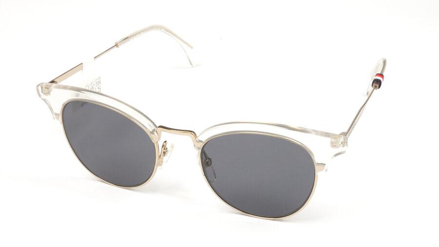 Очки TOMMY HILFIGER TH 1539/S 900 GREY CRYSTAL солнцезащитные купить