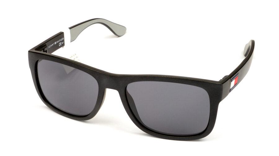 Очки TOMMY HILFIGER TH 1556/S 08A GREY BLACKGREY солнцезащитные купить