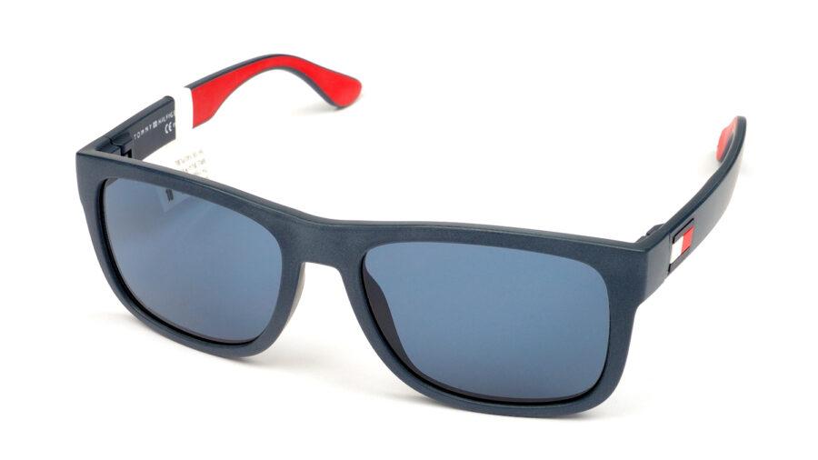 Очки TOMMY HILFIGER TH 1556/S 8RU BLUE AVIO BL REDWHT солнцезащитные купить