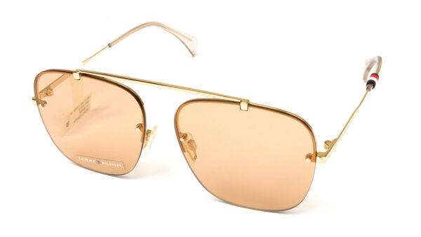 Очки TOMMY HILFIGER TH 1574/S J5G BROWN GOLD солнцезащитные купить