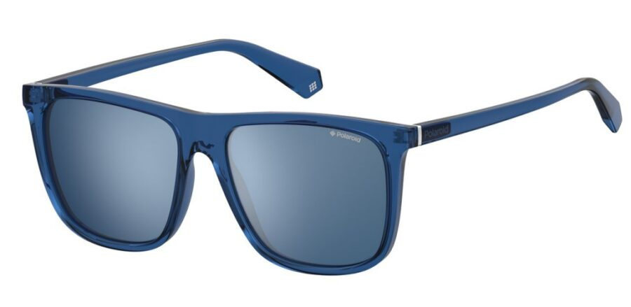 Очки POLAROID PLD 6099/S BLUE солнцезащитные купить