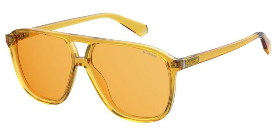Очки POLAROID PLD 6097/S YELLOW солнцезащитные купить
