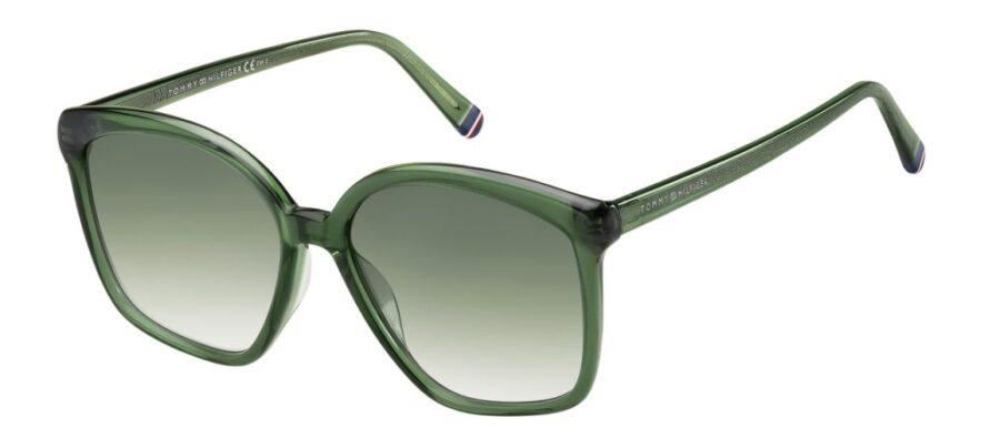 Очки TOMMY HILFIGER TH 1669/S GREEN солнцезащитные купить