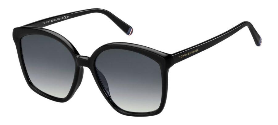 Очки TOMMY HILFIGER TH 1669/S BLACK солнцезащитные купить