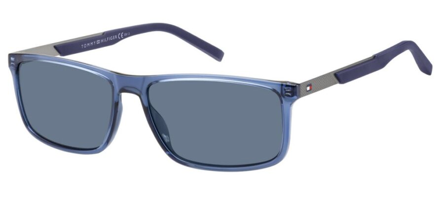 Очки TOMMY HILFIGER TH 1675/S BLUE солнцезащитные купить