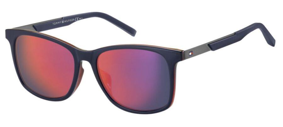 Очки TOMMY HILFIGER TH 1679/F/S BL REDWHT солнцезащитные купить