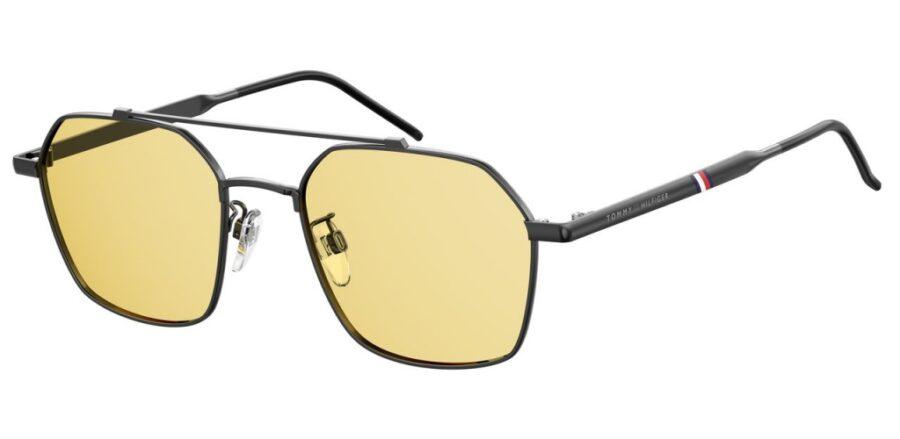 Очки TOMMY HILFIGER TH 1676/G/S DKRUT BLK солнцезащитные купить