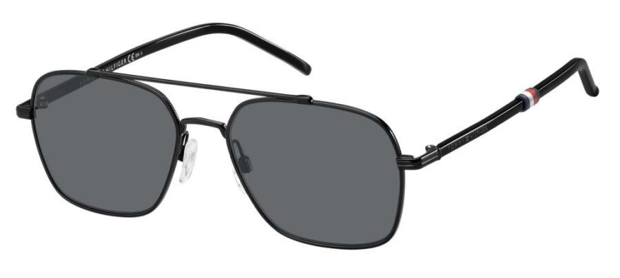 Очки TOMMY HILFIGER TH 1671/S BLACK солнцезащитные купить