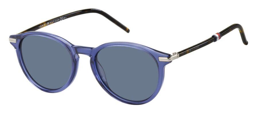 Очки TOMMY HILFIGER TH 1673/S BLUE солнцезащитные купить