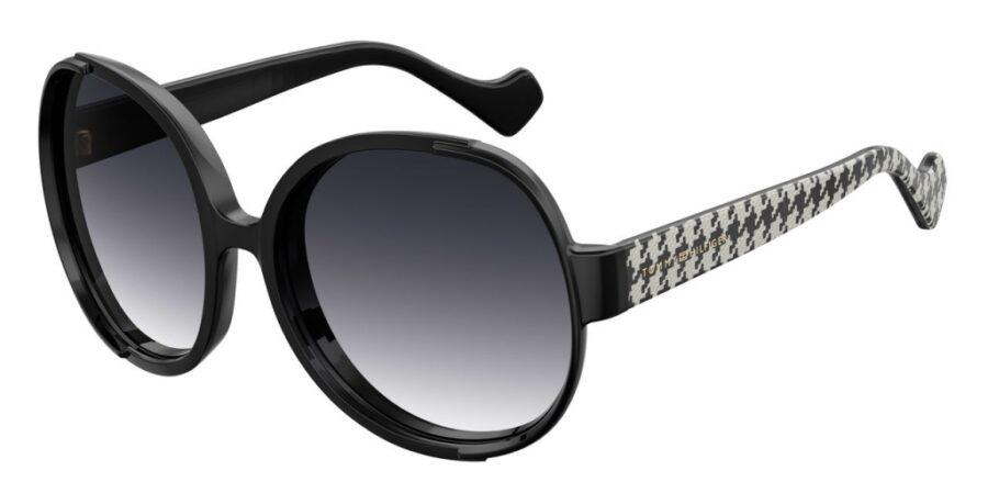 Очки TOMMY HILFIGER TH ZENDAYA III DMNFBR BK солнцезащитные купить