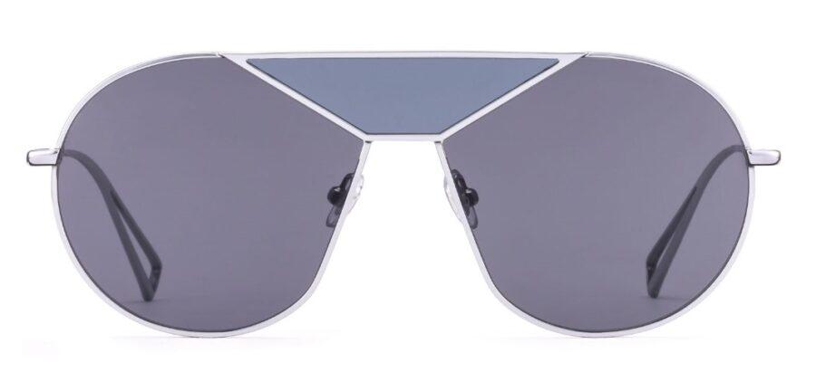 Очки GIGIBarcelona THE UNKNOWN Sh.Silver солнцезащитные купить
