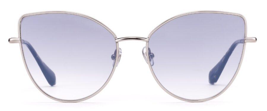 Очки GIGIBarcelona BUTTERFLY Sh.Silver солнцезащитные купить