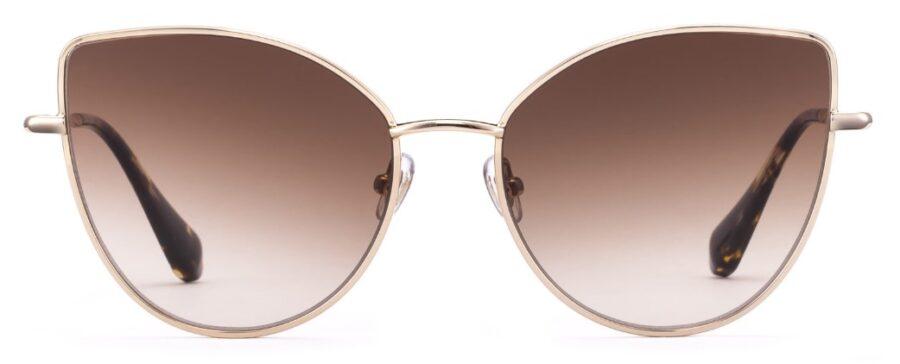 Очки GIGIBarcelona BUTTERFLY Sh.Gold солнцезащитные купить