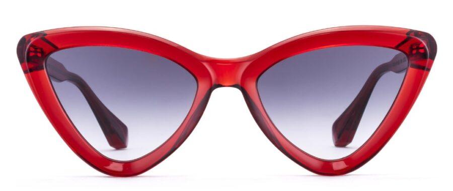 Очки GIGIBarcelona FLORENCE Crystal Red солнцезащитные купить