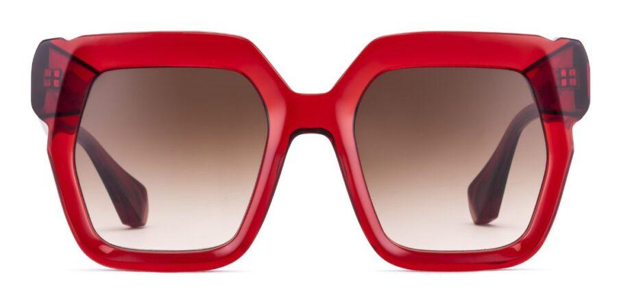 Очки GIGIBarcelona LARA Crystal Red солнцезащитные купить