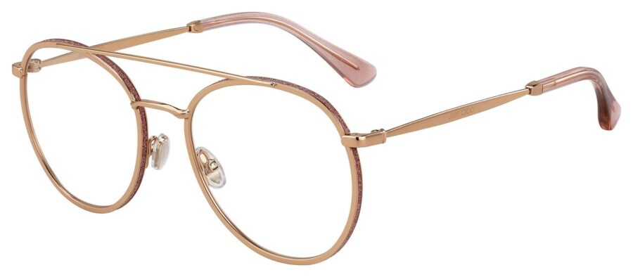 Очки JIMMY CHOO JC230 GOLD PINK для зрения купить