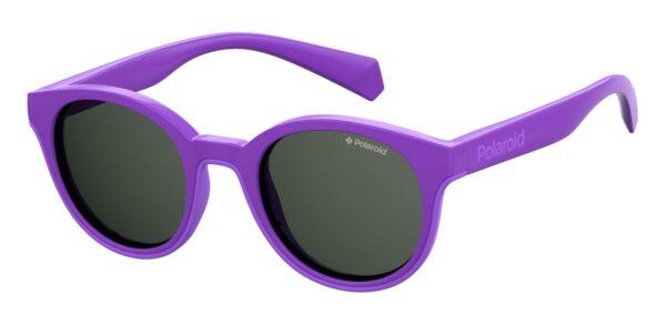 Детские очки POLAROID PLD 8036/S VIOLET солнцезащитные купить